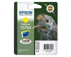 Epson T0794 Cartuccia inkjet giallo originale (C13T07944020)