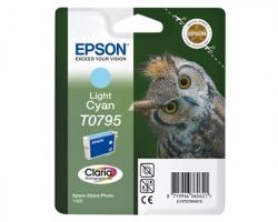 Epson T0795 Cartuccia inkjet ciano chiaro originale (C13T07954020)