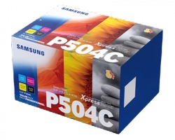 Samsung SU400A Toner pack 1x4 nero ciano magenta giallo originale (CLTP504C)