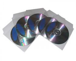 Busta in PVC con aletta per CD-Rom