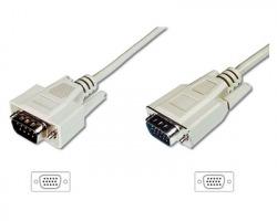 Cavo monitor VGA maschio-maschio, schermato, mt. 1.8