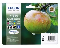 Epson T1295 Multipack inkjet nero + 3 colori originale (C13T12954020)