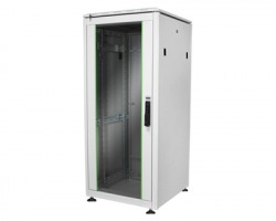 """Armadio rack a pavimento linea Professionale 19"""" 22 unità mm. 1200x600x600 colore grigio (RAL7035)"""