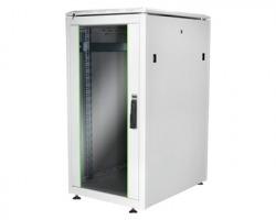 """Armadio rack a pavimento linea Professionale 19"""" 22 unità mm. 1200x600x800 colore grigio (RAL7035)"""