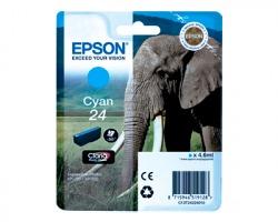 Epson 24 Cartuccia inkjet ciano originale (C13T24224010)