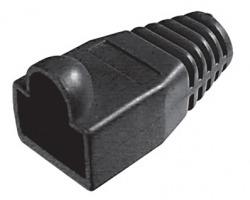 Copriconnettore per Plug RJ45 nero - confezione 100pz