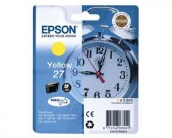 Epson 27 Cartuccia inkjet giallo originale (C13T27044010)