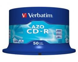 Verbatim 43343 CD-R 700Mb 80minuti 52x spindle (conf. 50 pezzi)