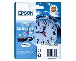Epson 27XL Multipack inkjet 3 colori originale alta capacità (C13T27154010)