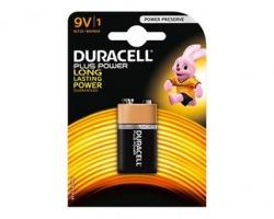 Duracell 75051884 Mn1604 batteria alcalina plus power 9v - in blister - 1pz