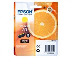 Epson 33 Cartuccia inkjet giallo originale (C13T33444010)