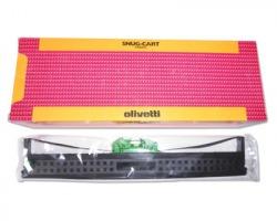"Olivetti B0375 1x5 Nastro originale nylon nero ""Snugcart Indelebile"""