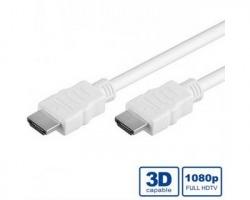 Cavo HDMI 3D 3mt doppia schermatura bianco
