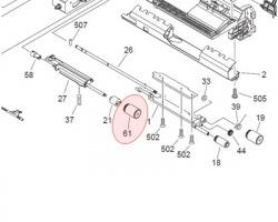 Canon FC66661000 Rullino separazione compatibile