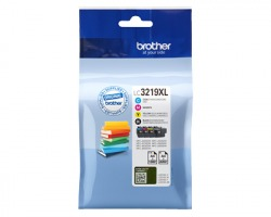Brother LC3219XLVALBP Multipack inkjet nero + 3 colori originale