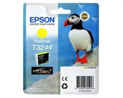 Epson T3244 Cartuccia inkjet giallo originale 14ml (C13T32444010)