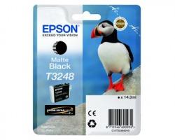 Epson T3248 Cartuccia inkjet nero opaco originale 14ml (C13T32484010)