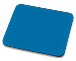 Tappetino mouse 25x22 cm, colore blu