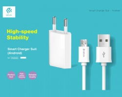 Devia Smart charger suit per Android Micro USB
