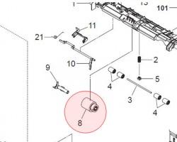 Kyocera 2CL16130 Rullino alimentazione M/P compatibile