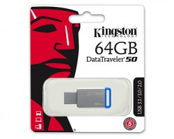 Kingston Pendrive da 64GB Datatraveler50 USB 3.1 (DT50/64GB)