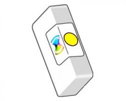Epson T0554 Cartuccia inkjet giallo compatibile (C13T05544020)