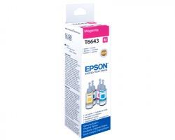 Epson T6643 Flacone inchiostro originale magenta (C13T664340) da 70ml