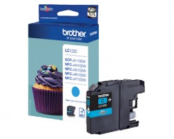Brother LC123C Cartuccia inkjet ciano originale