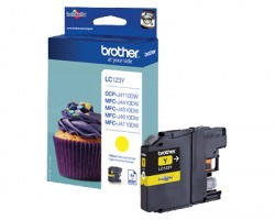 Brother LC123Y Cartuccia inkjet giallo originale