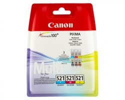 Canon CLI521 Multipack inkjet tricromia originale (2934B007)
