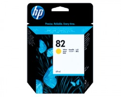HP C4913A Cartuccia inkjet giallo originale (82) (ml. 69)