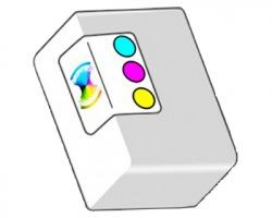 HP CC644EE Cartuccia inkjet rigenerata tricolore alta capacità (300)
