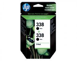 HP CB331EE Pack x2 inkjet nero originale (338)