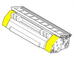 Utax 4472610016 Toner giallo compatibile con chip **Linea Economica, scatola bianca