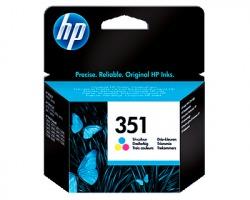 HP CB337EE COL Cartuccia inkjet tricomia originale (351)