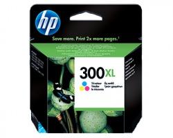 HP CC644EE Cartuccia inkjet tricromia originale alta capacità (300XL)