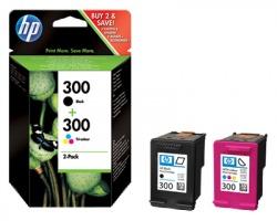 HP CN637EE Multipack inkjet nero + colore originale (300+300)