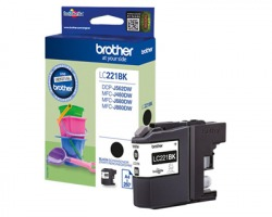 Brother LC221BK Cartuccia inkjet nero originale