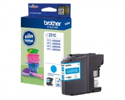 Brother LC221C Cartuccia inkjet ciano originale