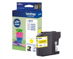 Brother LC221Y Cartuccia inkjet giallo originale