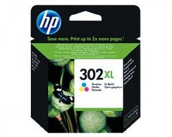 HP F6U67AE Cartuccia inkjet colore originale (302XL)