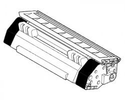 Kyocera Mita TK475 Toner nero compatibile no chip, con 2 vaschette di recupero toner