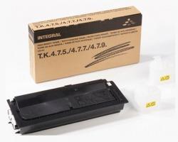 Integral TK475 Toner nero compatibile 15.000 copie 520g con chip + 2x vaschetta rec.toner