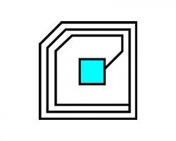 Ricoh Chip compatibile per rigenerazione toner ciano 15K