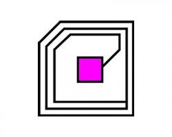 Ricoh Chip compatibile per rigenerazione toner magenta 5.500 copie