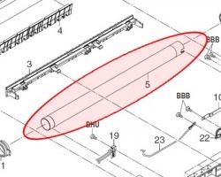 Kyocera 2C920050 Rullo fusore superiore compatibile alta qualità (2C920051)