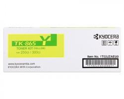 Kyocera TK865Y Toner giallo originale (1T02JZAEU0)