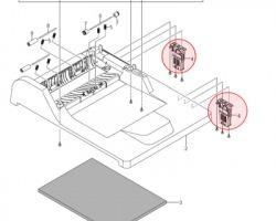 Samsung JC9702779A Mea unit hinge originale