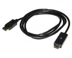 Cavo DisplayPort 1.2 maschio - HDMI 4K maschio, mt. 1,8