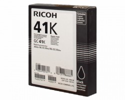 Ricoh GC41BLK Cartuccia gel originale nero alta capacità 2.5K